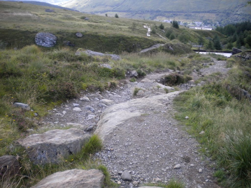 Glenshee Road return path to Braemar